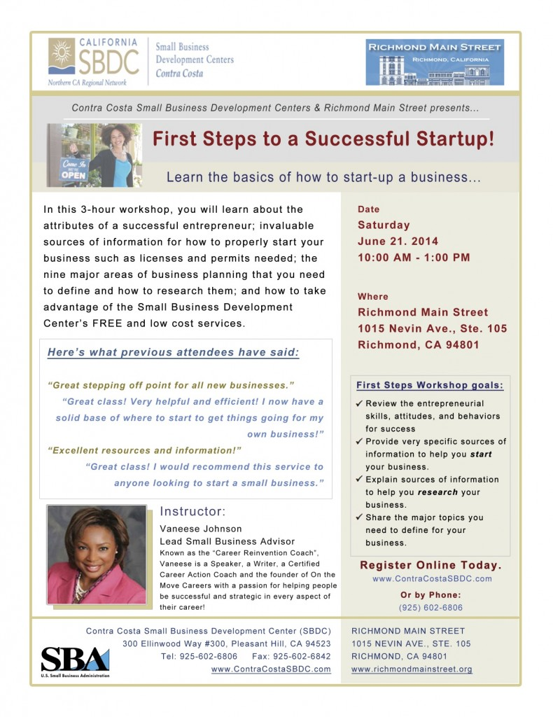 First Steps to a Successful Start-Up
